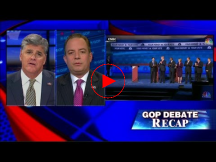 Priebus: 3rd GOP Debate Was &039;Nothing But a Crap Sandwich&039;
