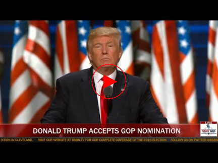 FULL SPEECH: Donald Trump Accepts Republican Nomination for President (7-21-16)