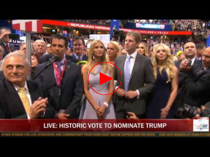 Republican National Convention on Tuesday July 19, 2016 Video Playlist