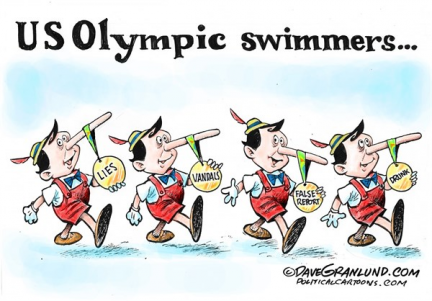 US Olympic swim scandal